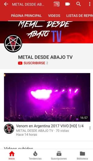 metal desde abajo tv